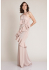 Powder knitted maxi dress