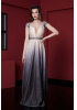 Silver leaf 080 knitted maxi short sleeve dress